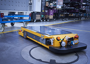 The BMW Group is currently working on developing five AI-enabled logistics robots to improve logisti