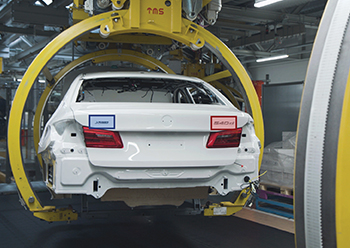 Control of model designation by KI-camera, Assembly BMW Group Plant Dingolfing