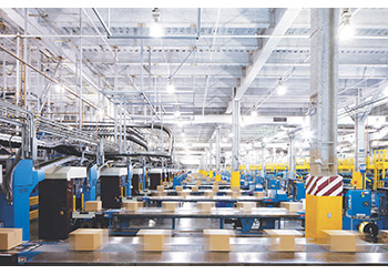 Manufacturers can track inventory as it moves at the production line and beyond