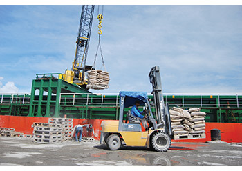 Heightened activity in the construction sector has fuelled cement production in Saudi Arabia