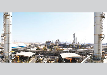 Sadara chemical plant in Jubail