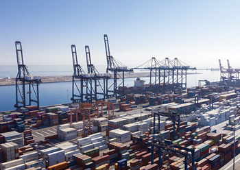 Over 4,400 vessels visited the Sultanate's ports from January to June