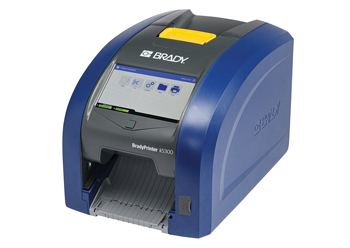 The BradyPrinter i5300 can handle both high-volume and high-mix labeling applications